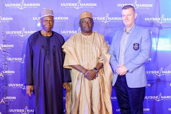 12_Francis Ogburu, Umar Farouk, Andy Hunter Ulysse Nardin and ZAKAA Abuja Launch