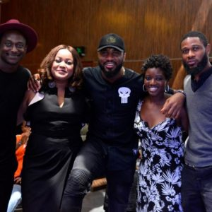 14 Sammy, Diwari, Praiz, Tonye and guest at LoudNProudLive Series November Edition at SOUL at Intercontinental