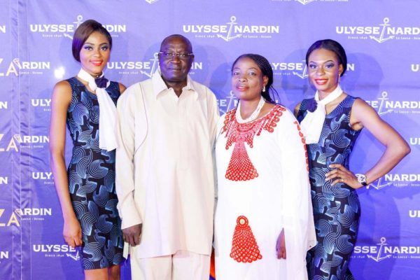 16_Ambassador & Mrs James Barka Ulysse Nardin and ZAKAA Abuja Launch