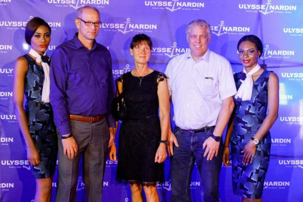 17_Marco Braun, Meline & Husband Ulysse Nardin and ZAKAA Abuja Launch