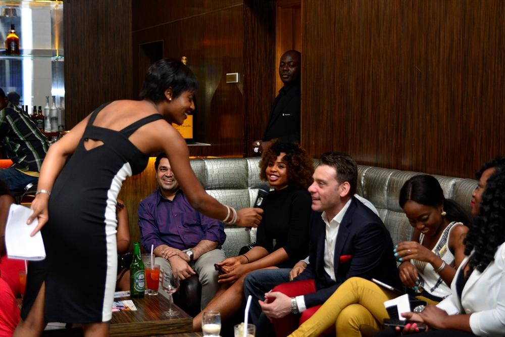 20 Zemaye shares jokes with guests at LoudNProudLive Series