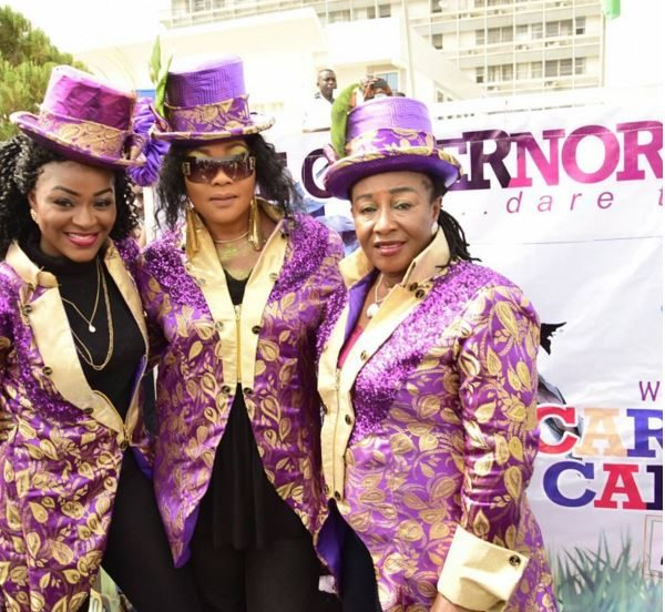 Chacha Eke Faani, Eucharia Anunobi & Patience Ozokwor