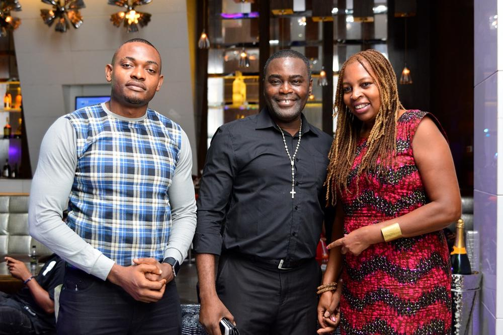 26 Fashion design Royalty Icon Frank Oshodi with Ngozi Omambala and guest