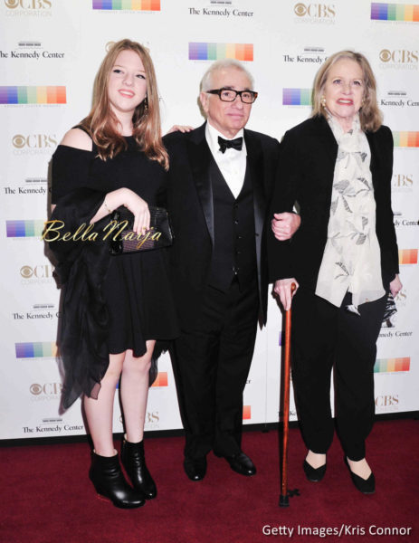 Martin Scorsese with wife Helen Schermerhorn Morri