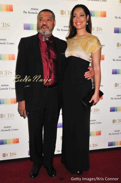 Laurence Fishburne & Gina Torres