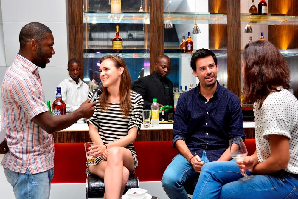 5 Kessiena Eboh has a chat with guests