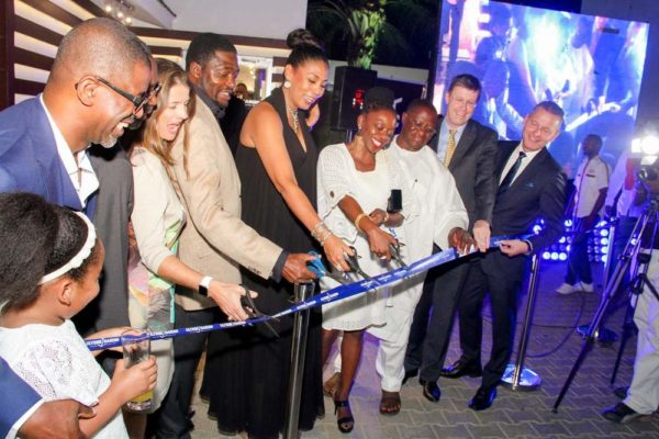 5_Ribbon Cut Ulysse Nardin and ZAKAA Abuja Launch