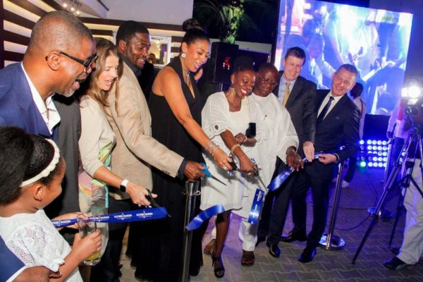 6_Ribbon Cut (2) Ulysse Nardin and ZAKAA Abuja Launch