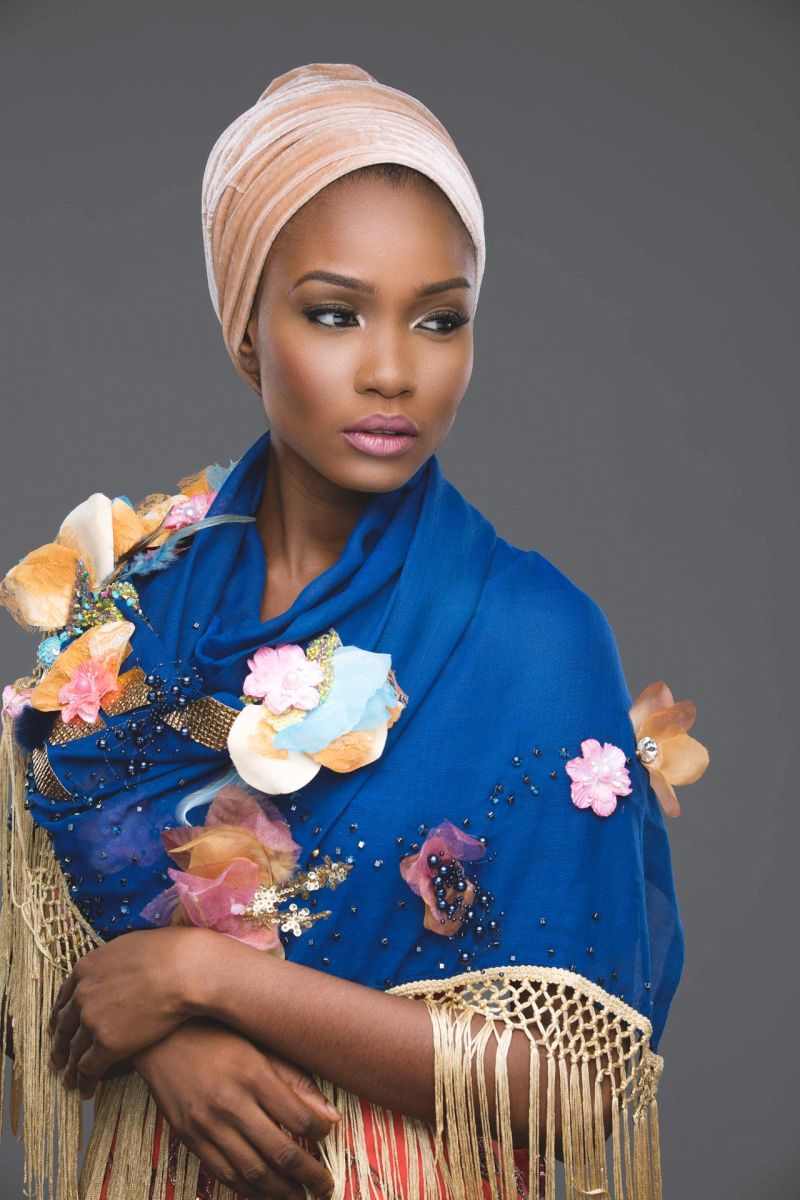 Abaya Lagos Desert Bloom Collection Lookbook - BellaNaija - December2015011