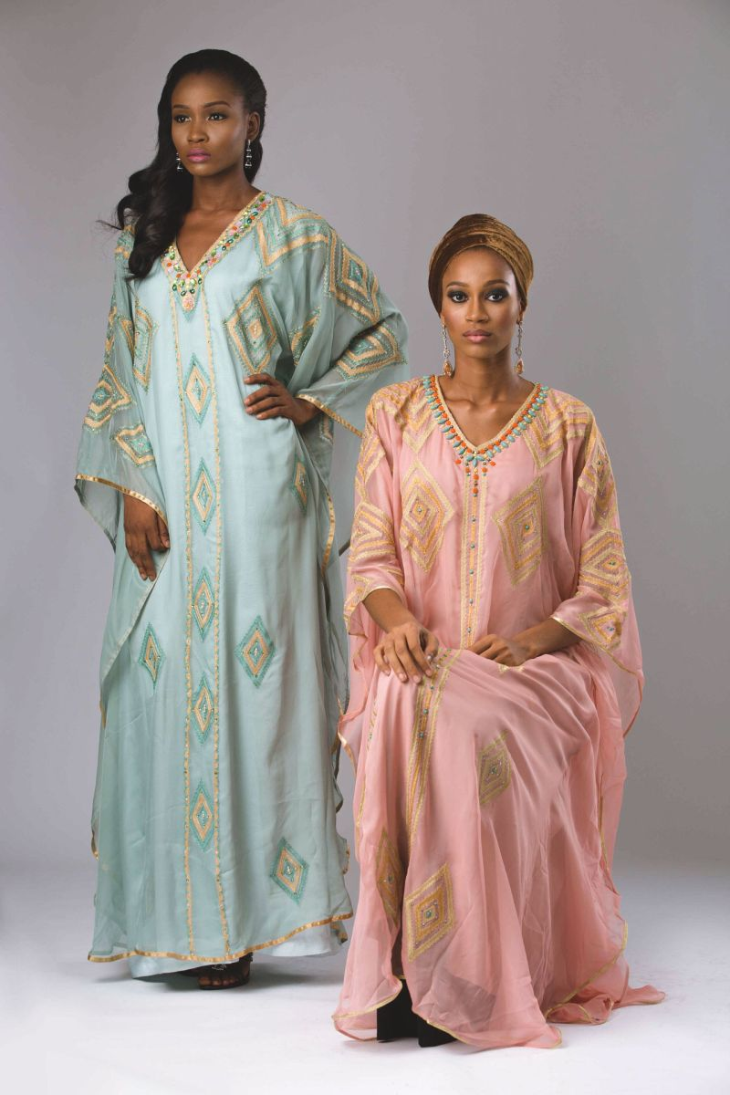 Abaya Lagos Desert Bloom Collection Lookbook - BellaNaija - December2015020