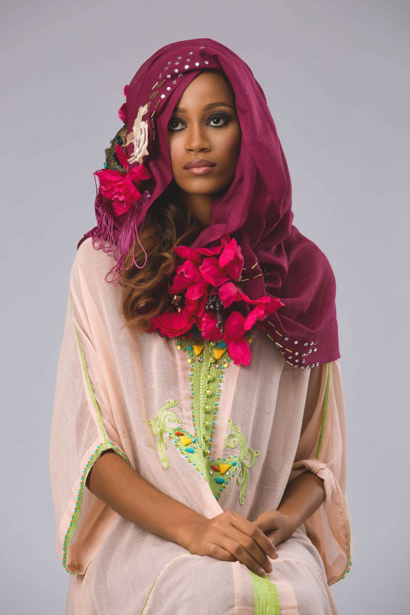 Abaya Lagos Desert Bloom Collection Lookbook - BellaNaija - December2015024