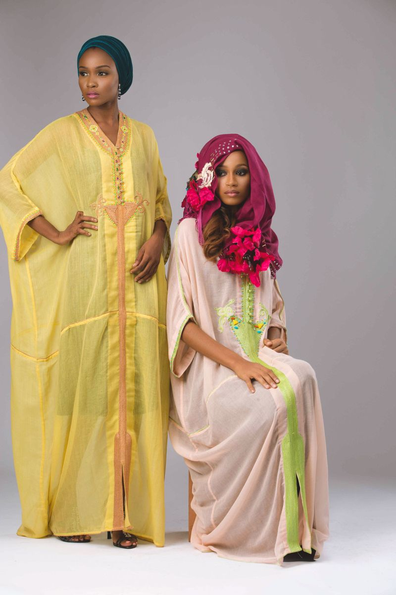 Abaya Lagos Desert Bloom Collection Lookbook - BellaNaija - December2015025