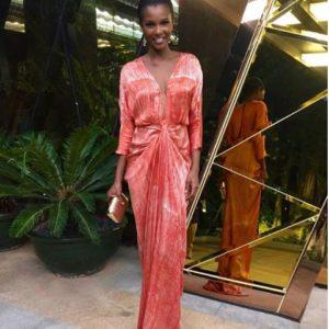 Agbani Darego in Tiffany Amber