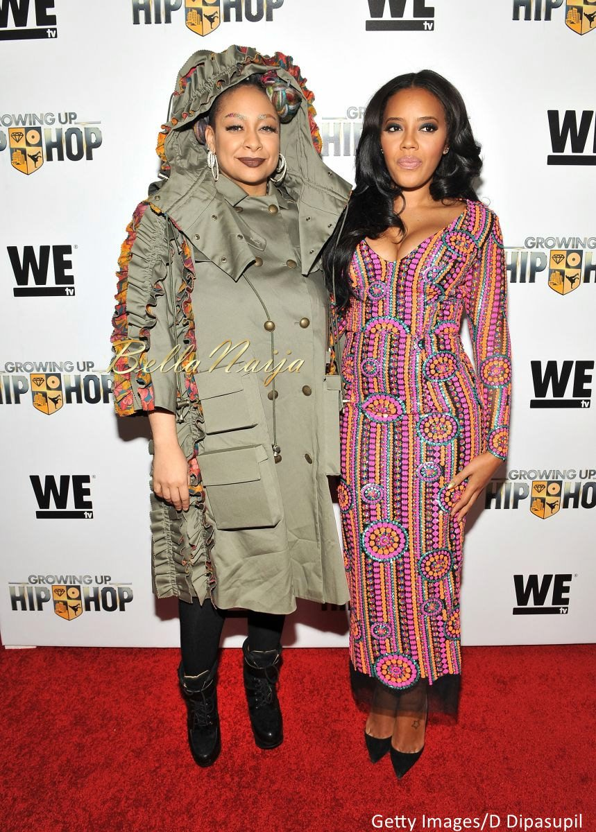 Angela Simmons at WE tv Growing Up Hip Hop Premiere - BellaNaija - December2015003