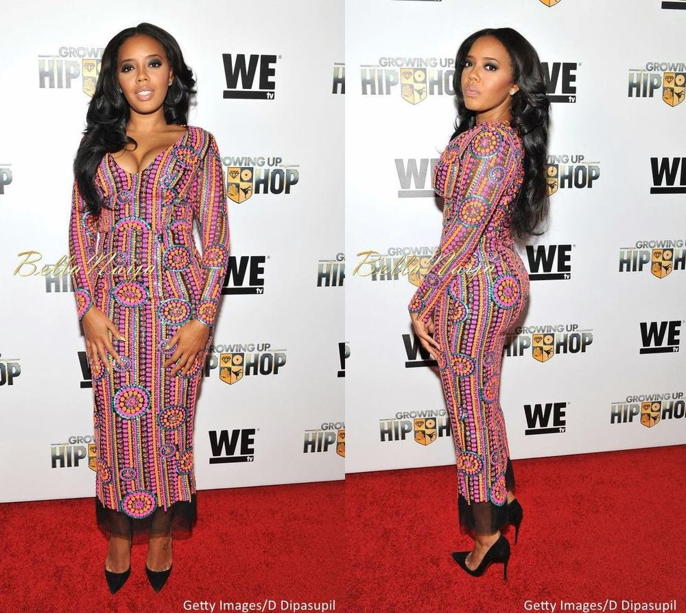 Angela Simmons at WE tv Growing Up Hip Hop Premiere - BellaNaija - December2015007