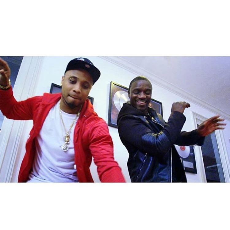 B Red Akon Cucumber