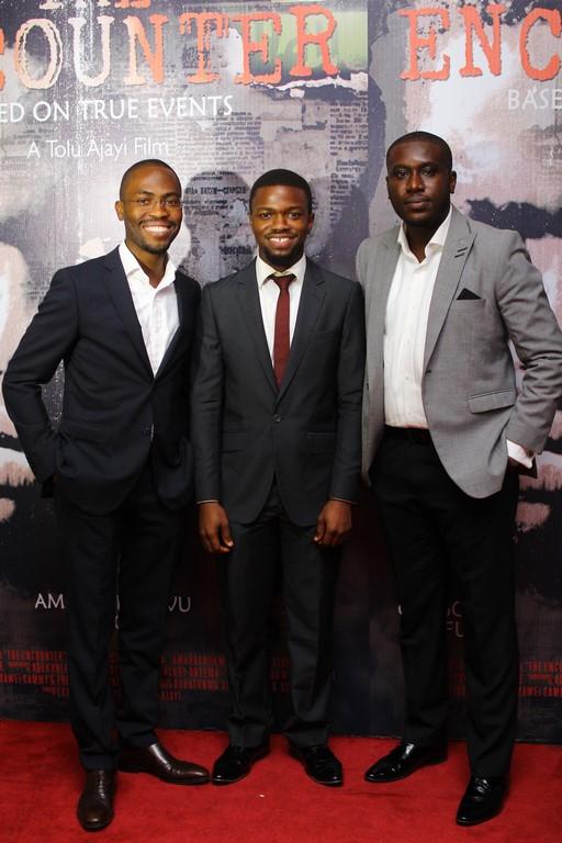Babatunwa Aderinokun, Amarachukwu Onoh and Uche Okocha