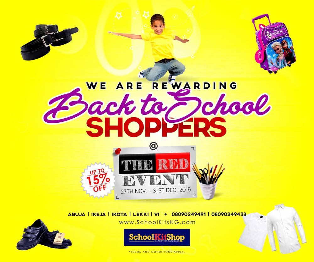 Back to School Shoppers BN Bargains