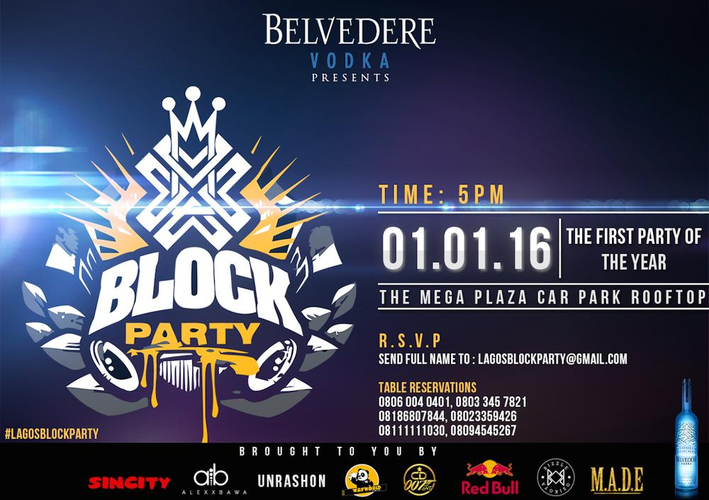 Belvedere Block Party 1st Jan 2016