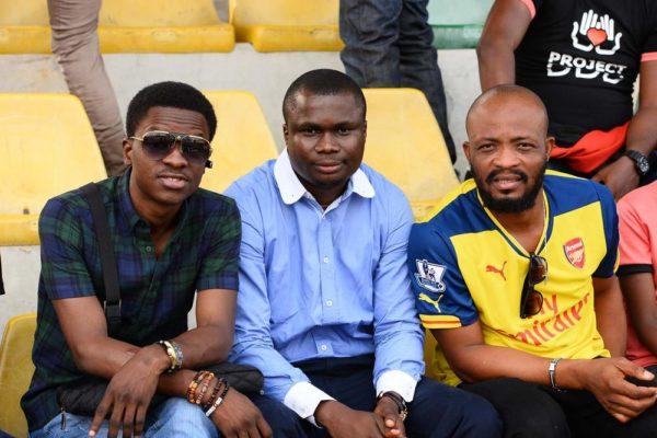 BigTimi, CJ and Obi Martins