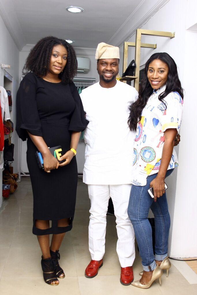 Bola Balogun, Adebola Williams and Kaylah Oniwo ZAZAII