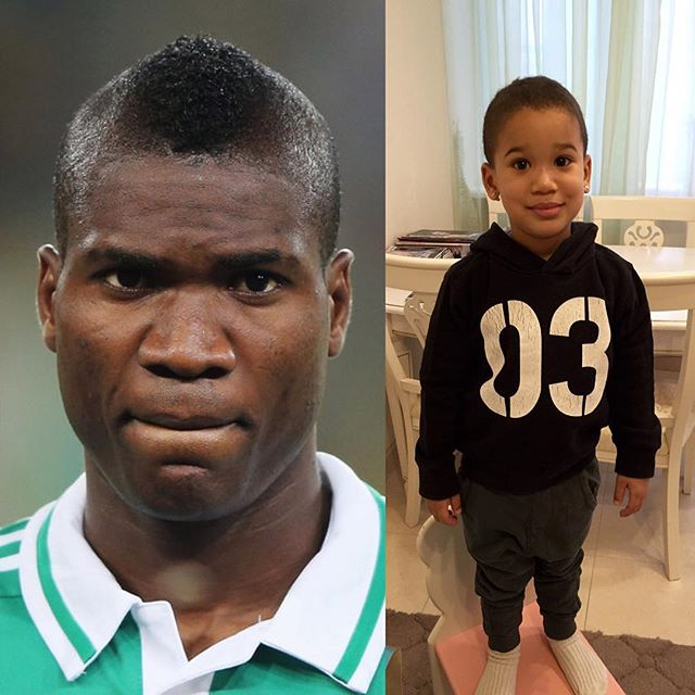 Brown Ideye and son