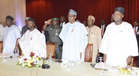 Buhari House of Reps Dinner