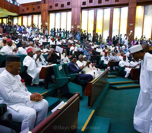 Buhari Presents Budget