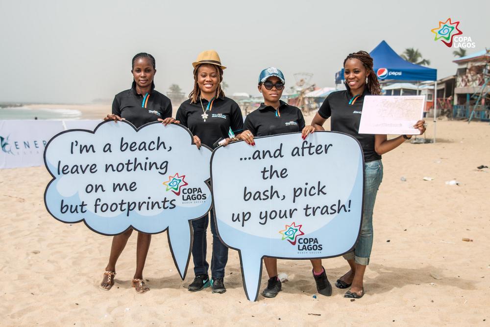 COPA Lagos Clean the Beach IMG_1330