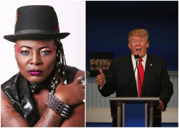 Charly Boy the Donald Trump