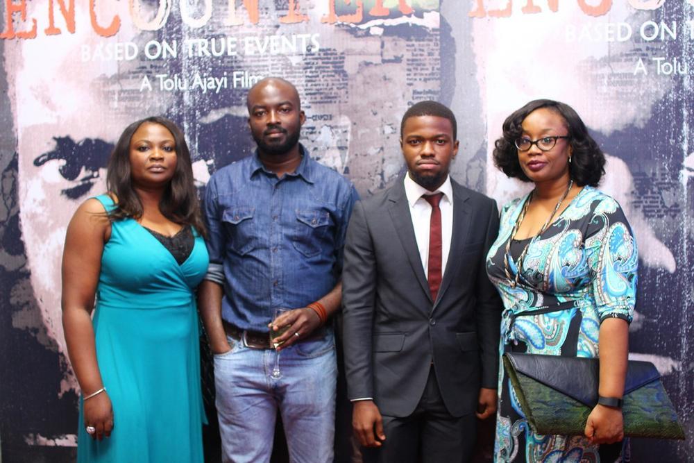 Chinedu Nwaohiri, Uche Nwaohiri, Amarachukwu Onoh and Dupe Oherein
