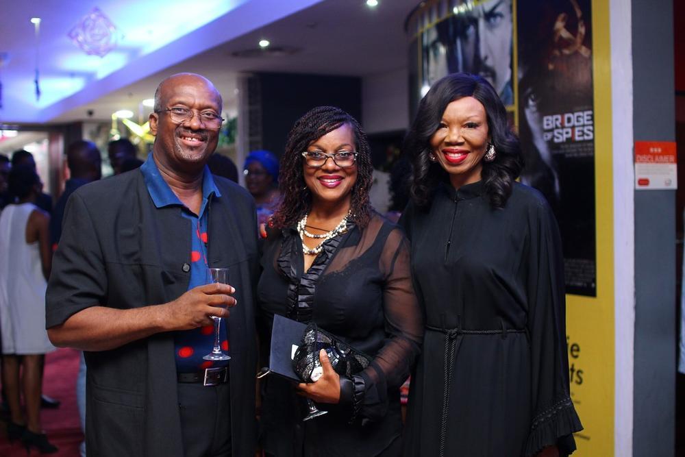 Chris Anyaegbunam, Chibogu Anyaegbunam and Betty Irabor