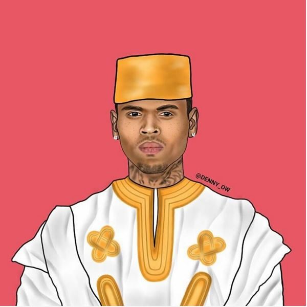 Chris Brown as Chris Kofi Sarpong Brown