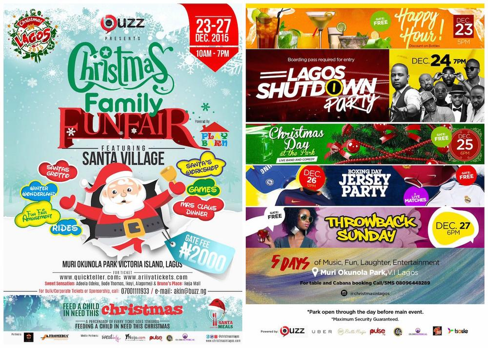 Christmas in Lagos 2015