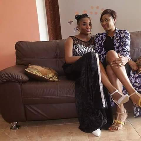 Cindy Echefu and Florence Esu