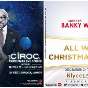 Ciroc Christmas Eve Parties