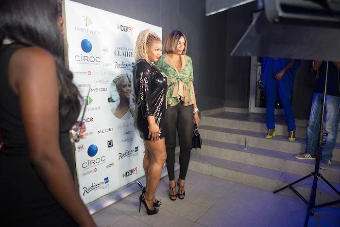 Claire Sulmers and DZRPT Cocktails with Claire Lagos - BellaNaija - December2015011