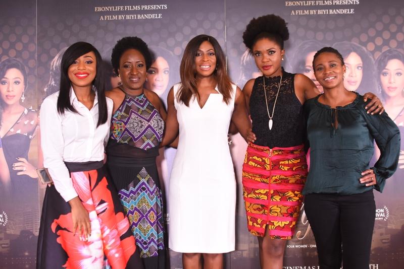 Dakore Akande, Ireti Doyle, Mo Abudu, Omoni Oboli & Nse Ikpe-Etim