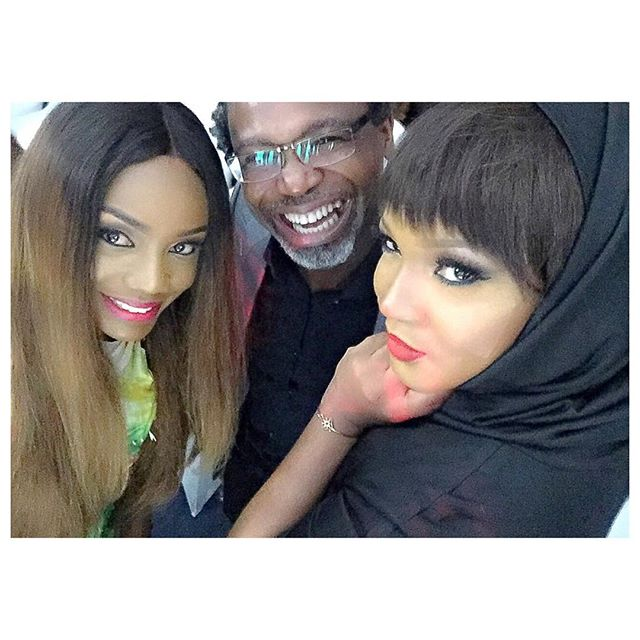 Omotola with Ono Bello & Kelechi Amadi Obi