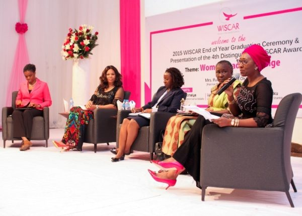 Discussants at WISCAR's 7th induction, graduation ceremony