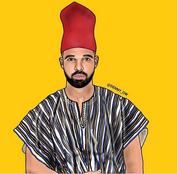 Drake as Aubrey Drake Abdul-Salam Graham (PALMWINEPAPI)