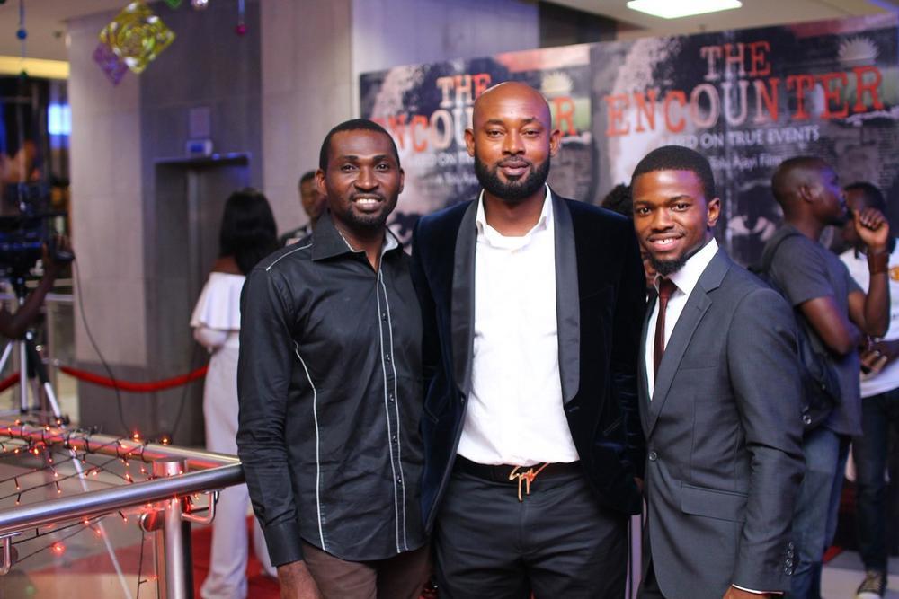 Ekene Mekwunye, Mohammed Abdullahi and Amarachukwu Onoh
