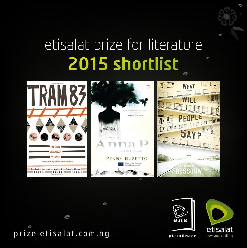 Etisalat Prize for Lierature 2015 Shortlist
