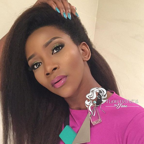Genevieve Nnaji Makeup - BellaNaija - November2015