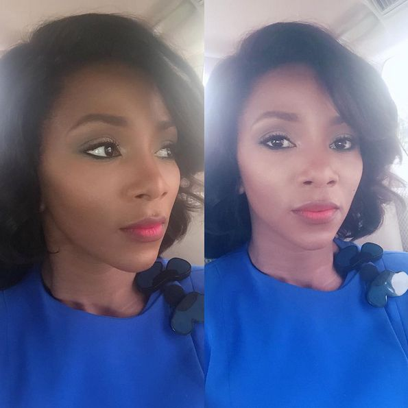 Genevieve Nnaji Makeup - BellaNaija - November2015004