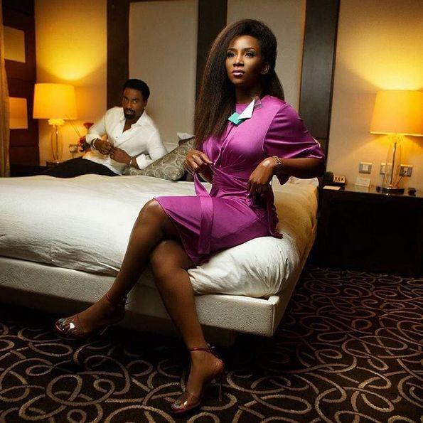 Genevieve Nnaji & Oris Erhuero for Vanguard Allure - BellaNaija - November2015