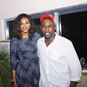 Genevieve Nnaji and Idris Elba