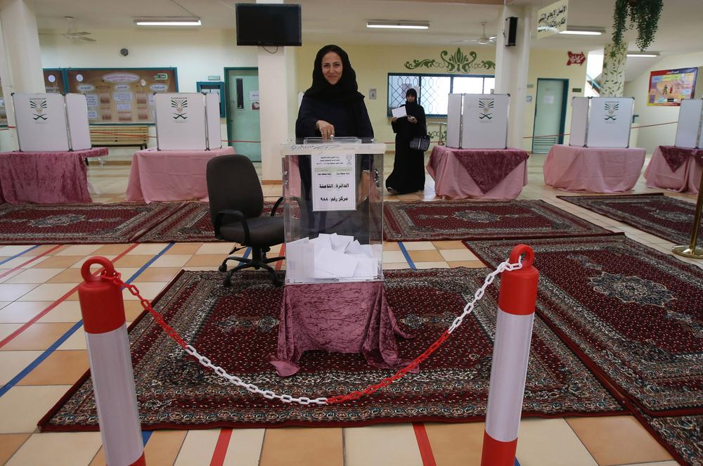 Image result for 'Ladies First': Saudi Arabia's Female Candidates