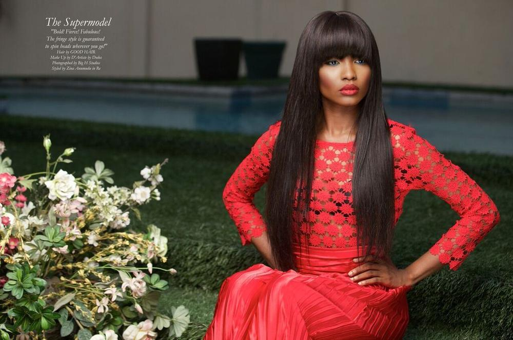 Good Hair Christmas Editorial - BellaNaija - December 20150011
