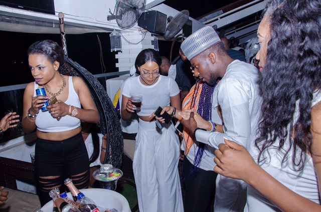 Grill At The Pent TrapZone Party - BellaNaija - December2015017